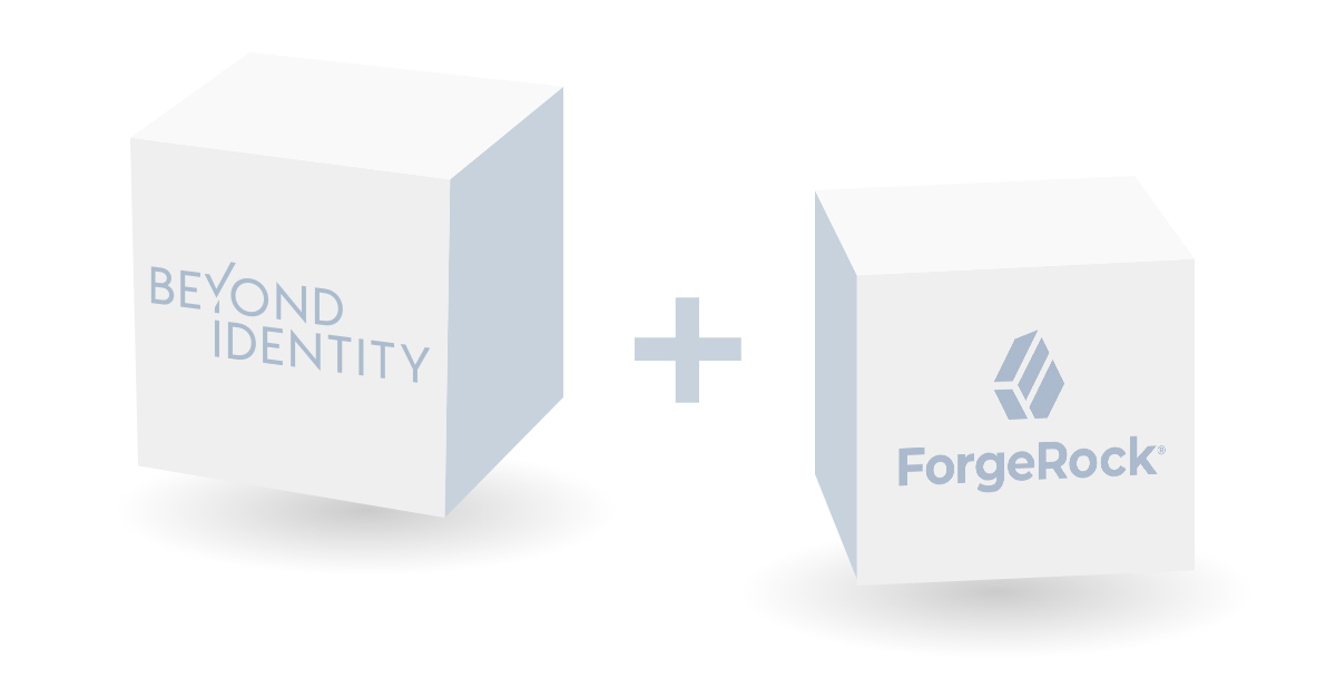 Beyond Identity and ForgeRock blocks